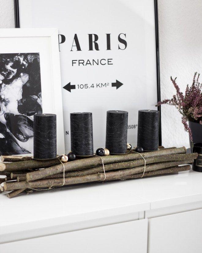 25 einzigartige adventskranz holz ideen auf pinterest. Black Bedroom Furniture Sets. Home Design Ideas