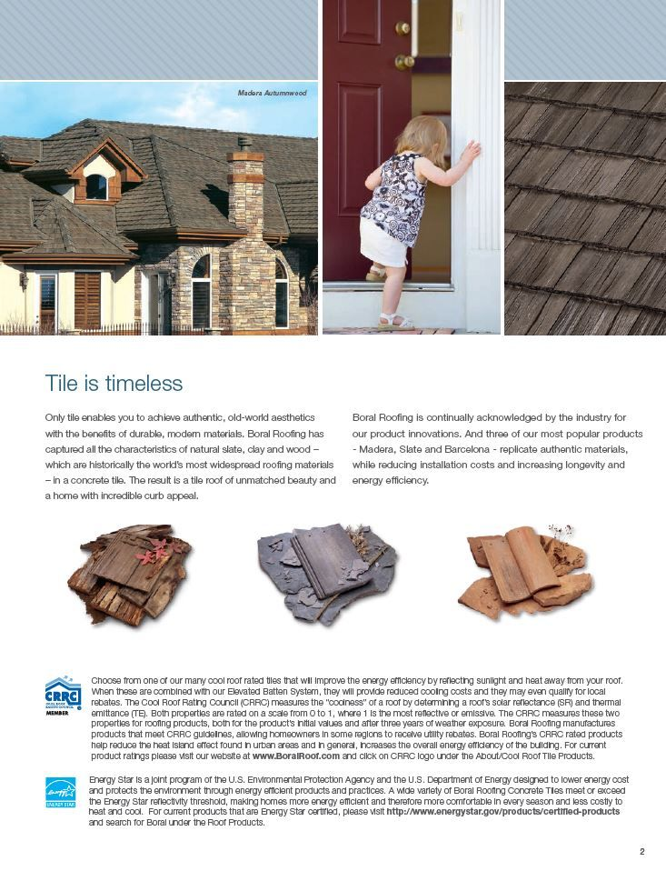 Pin By Boral America On Southern Nevada Concrete Tile North America Roofing America