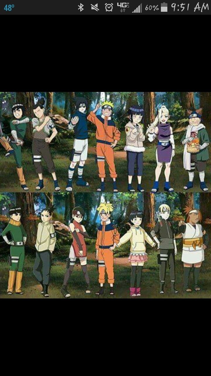 Old & new generation #Naruto