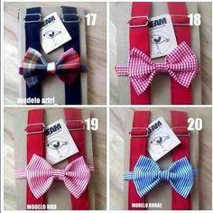 (22) Tirantes, Bow Tie. Para Niños!!! - $ 255.00 en MercadoLibre