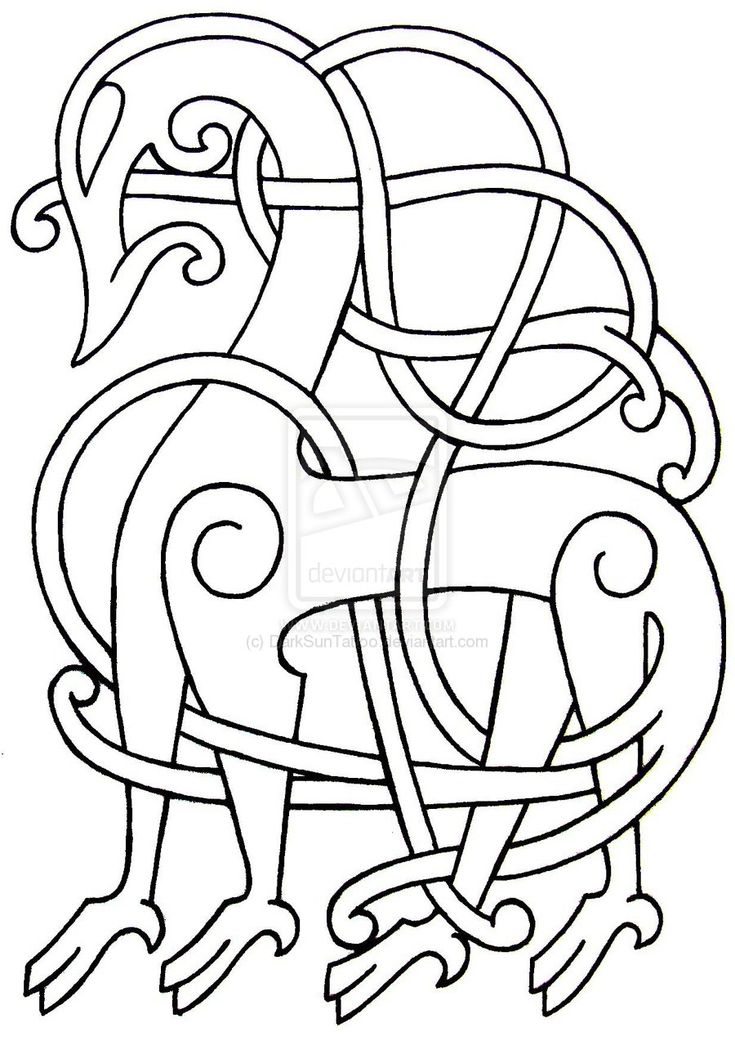 Viking Patterns http://darksuntattoo.deviantart.com/art/Viking-Flash-29-155265376