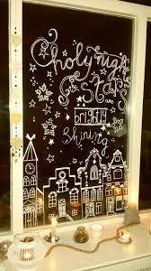 Image result for winterfenster kreide