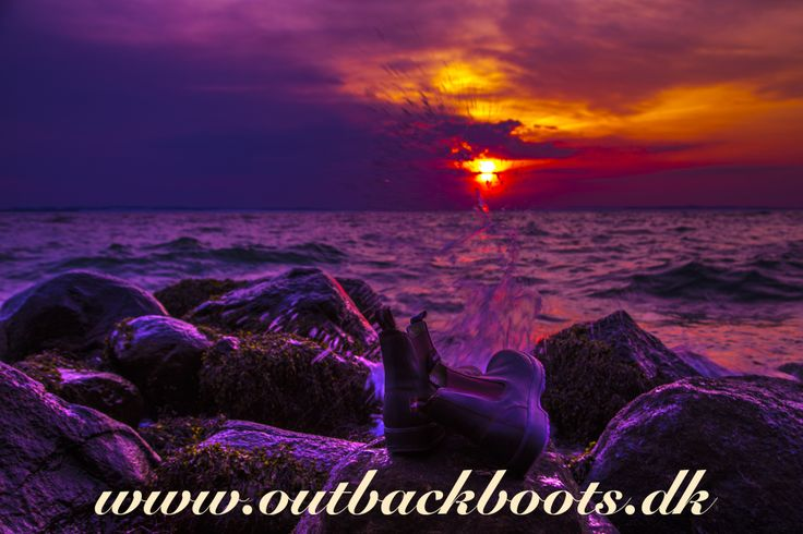 Outbackboots.dk - Blue Heeler Boots by the Aarhus Bay