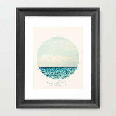 Salt+Water+Cure+Framed+Art+Print+by+Tina+Crespo+-+$36.00