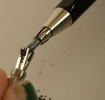 Mechanical pencil lead sharpener, I always thought it was a clever ideea and enjoyed using it, Just Landed: Koh-I-Noor