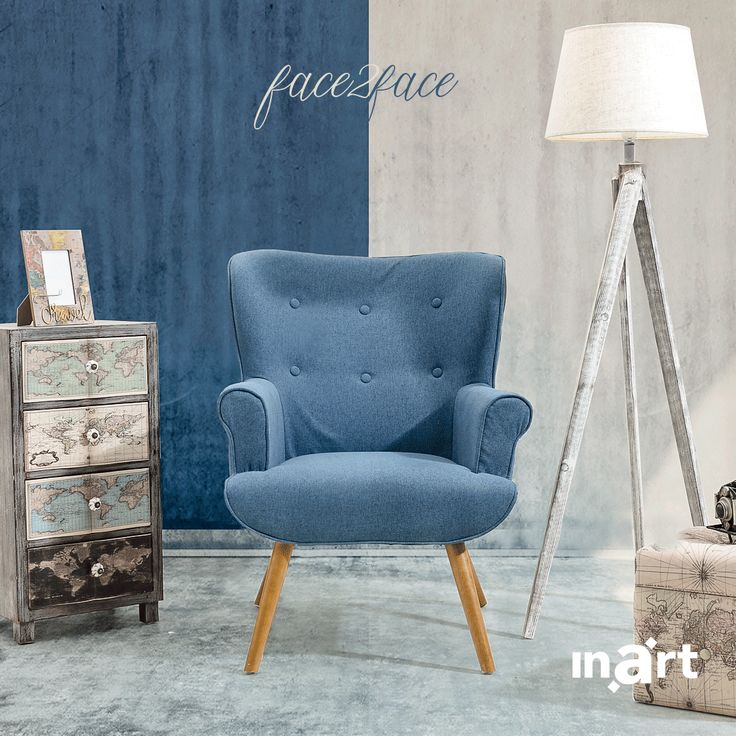Blue or white? White or blue? Whichever you choose be ready to embrace the summer breeze in your living room. Sit tight and… enjoy! It's called #inartLiving