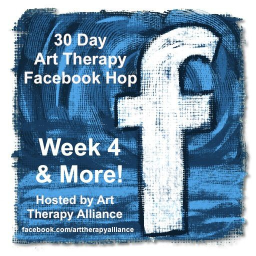 30 Day Art Therapy Facebook Hop: Week 4 & More! | Art Therapy Alliance : From the US to Canada, Singapore, India, Italy, Australia, & Ireland, what an awesome month long tour all over the world to visit a collection of art therapist owned Facebook pages featuring their practice, work, art expression, ideas, and inspirations.