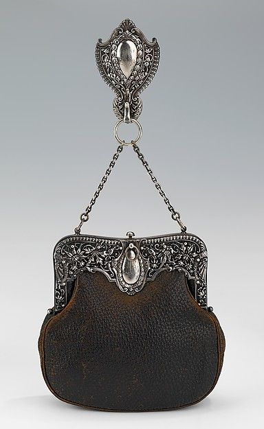 Chatelaine. Gorham Manufacturing Company (American, 1831–present), ca. 1895, leather, metal.