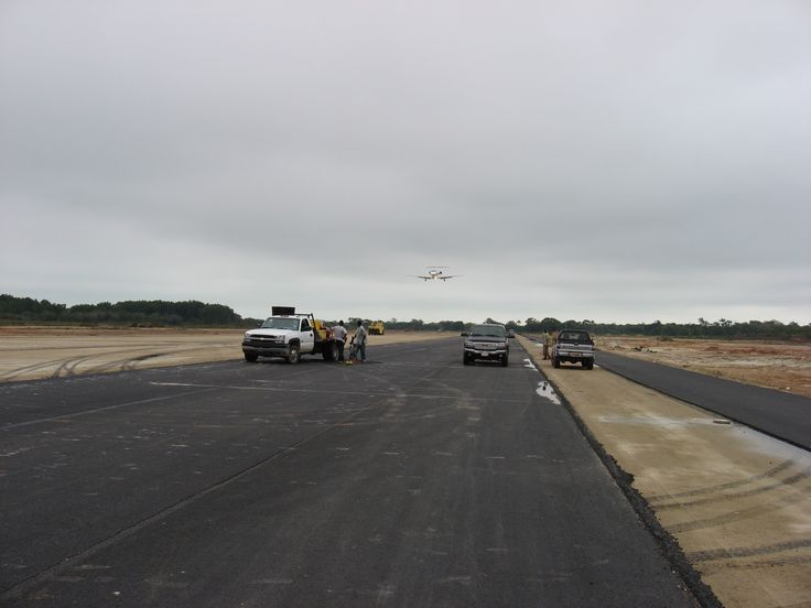 RodLa Construction LTD. Test Landing On The New Extension Of The Airport Runway.
