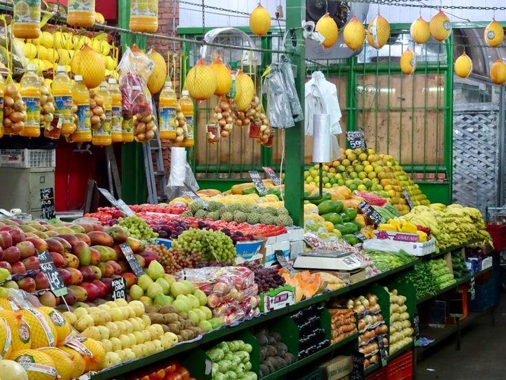 Fruit market in Rio