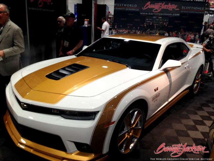 Special Linda Vaughn Inspired Camaros Go Up For Auction