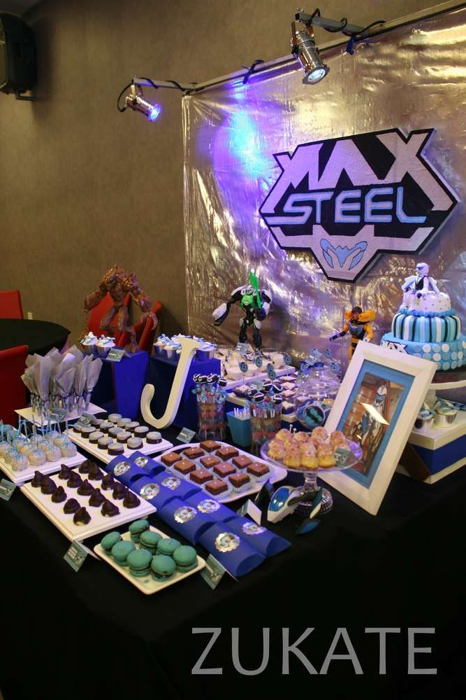 Max Steel Birthday Party Ideas | Photo 1 of 19 | Catch My Party