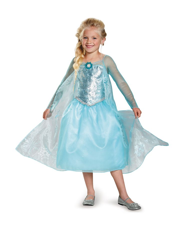Elsa Costume Collection for Kids - Frozen. $ - $ $ - $ Enjoy strong gusts of happiness in this delightfully cool costume inspired by Elsa from Frozen. Featuring a dress, shoes, wig, and headband, this collection will help your little fan look and feel the part.