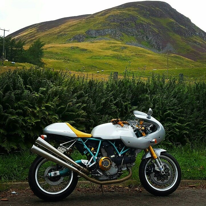 Ducati Paul Smart 1000le.  Customised by yours truly.