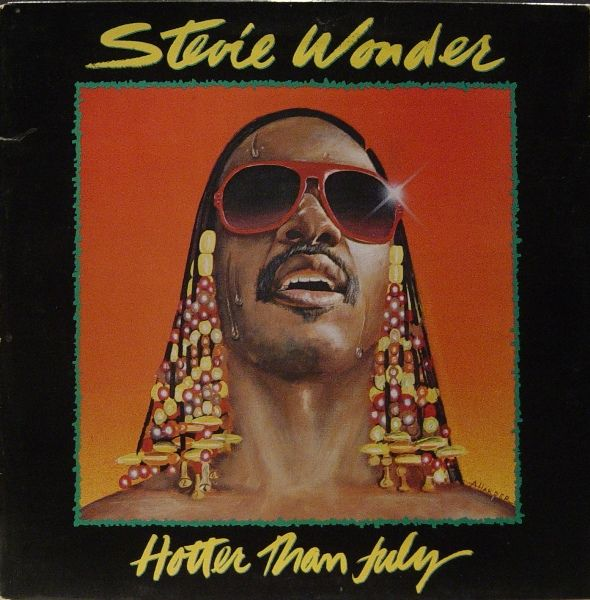 Stevie Wonder: Hotter Than July 1980 (c) Tamla Motown