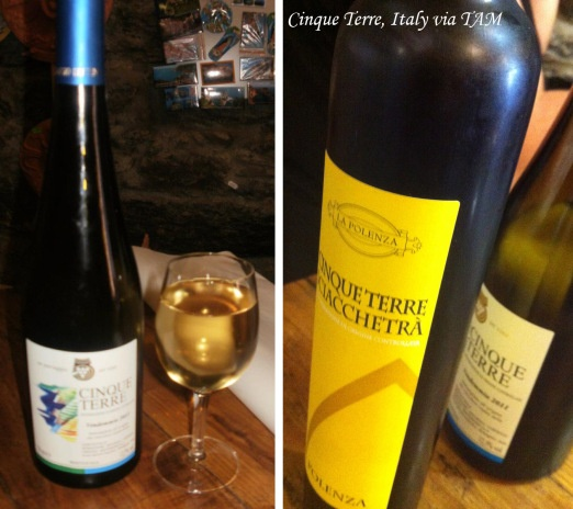 Cinque Terra, Italy | The region is famous for two wonderful wines: the Cinque Terra DOC and the most famous Sciacchetra