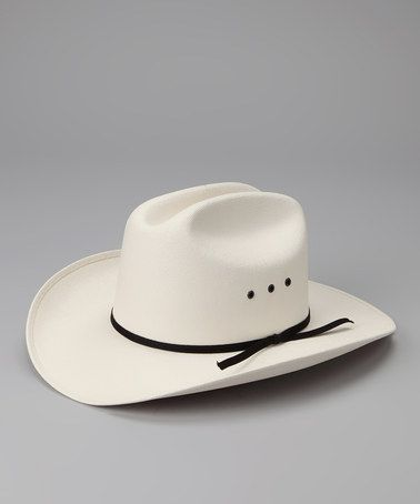 Take a look at this Western Express White Cattleman Hat by Western Wear: Boys' Apparel & Accents on #zulily today!