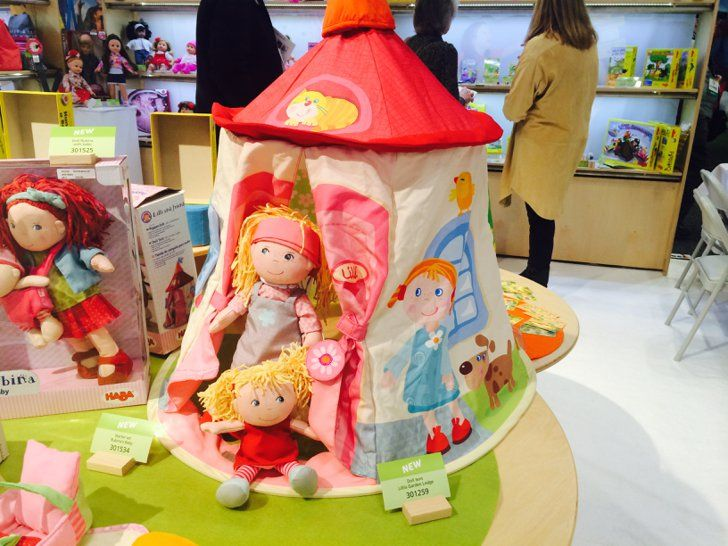 Pin for Later: Here's Your Peek Into 200+ Toys That Will Hit Store Shelves Later This Year Haba Lilli's Garden Lodge A play tent for dolls? Sign us up!