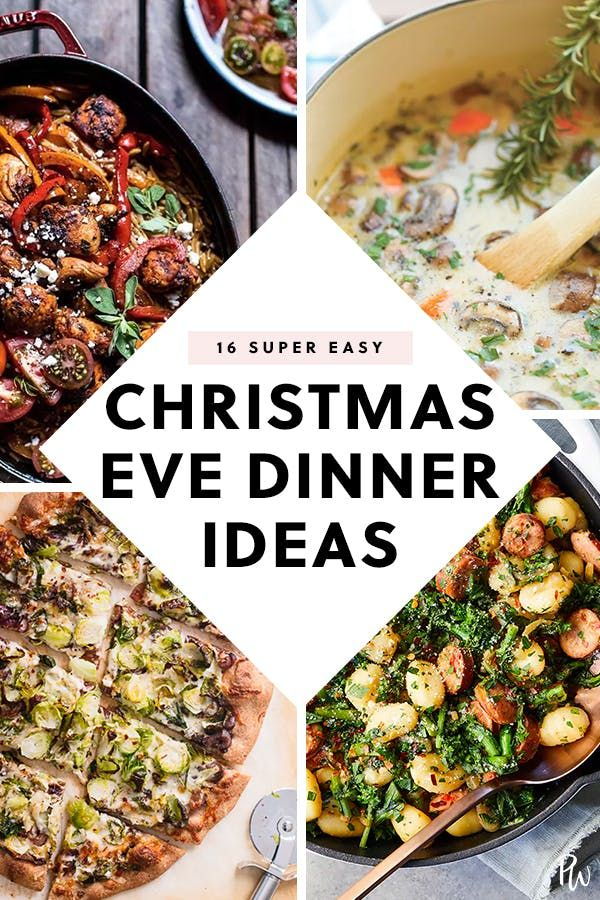 40 Christmas Eve Dinner Ideas That Take One Hour Or Less Christmas Food Dinner Christmas Dinner Main Course Christmas Eve Meal