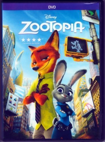 Zootopia DVD Disney Sealed New with Slipcover Free Shipping LOWEST PRICE LOOK!