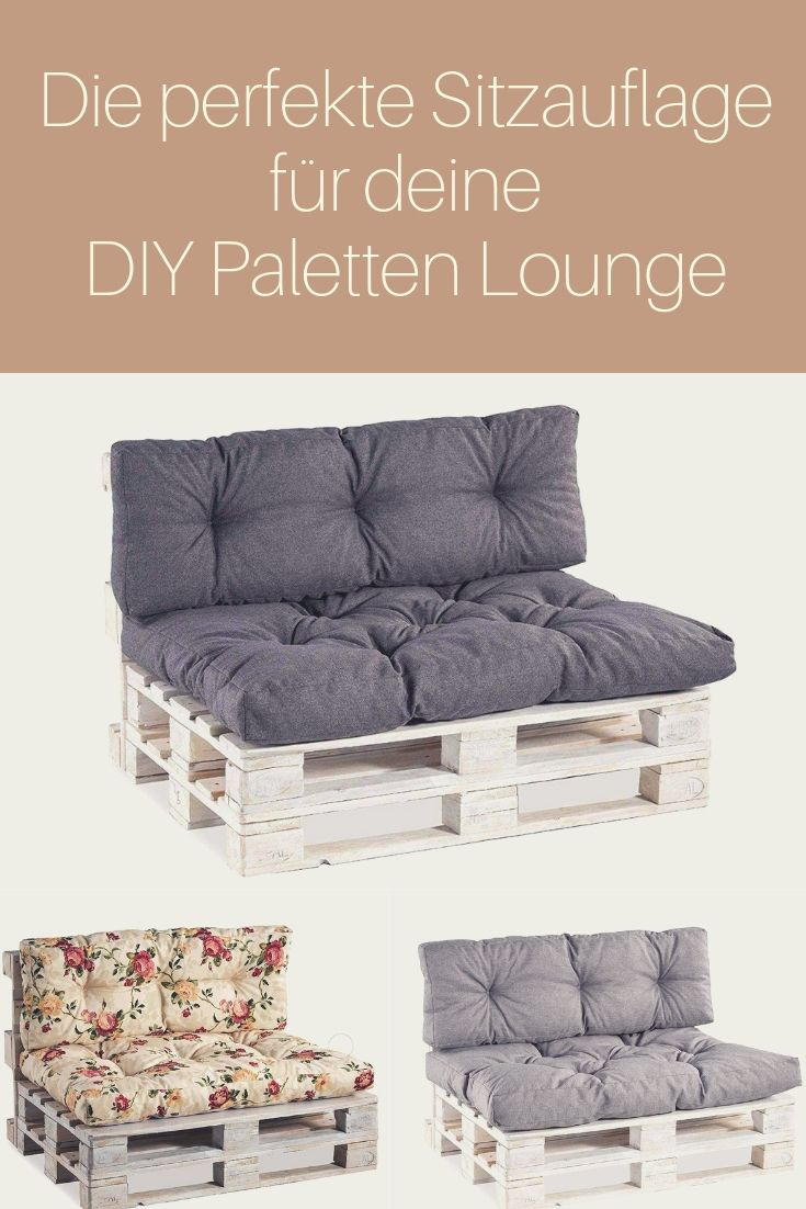 Paletten Sitzauflagen Paletten Kissen Paletten Lounge Paletten Couch