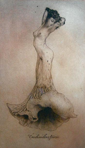 sisterwolf:  Mushroom Lady - Lauren Mills