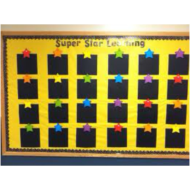 Best 25 star student board ideas on pinterest star work for Decorating bulletin boards for work