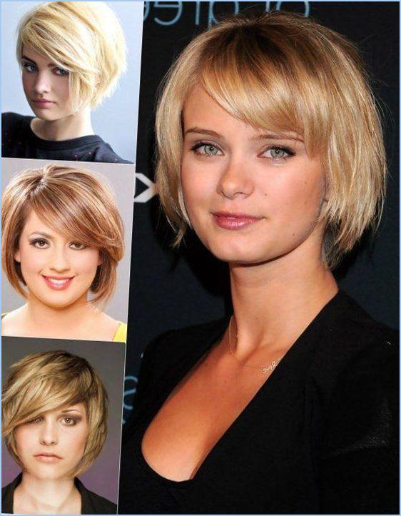Прически тонких волос круглое лицо (круглое лицо, короткие волосы прически, тонкие волосы, прически круглые, короткошерстных причесок раунд)