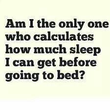 Sleep calculator for alarm clock