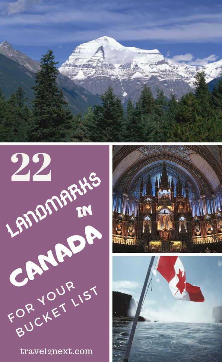22 Incredible Landmarks in Canada