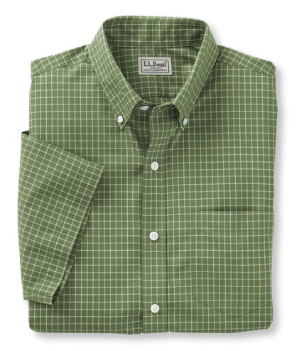 17 best images about l l bean green on pinterest ruffle for Ll bean wrinkle resistant shirts