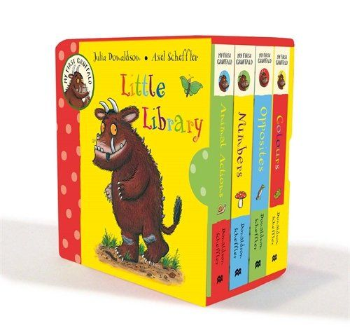 My First Gruffalo Little Library by Julia Donaldson https://www.amazon.com/dp/0230756050/ref=cm_sw_r_pi_dp_x_KOMjybDJEKYF8