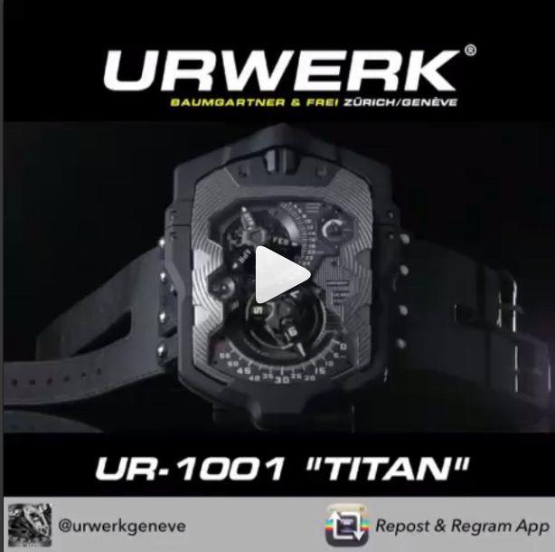 """1001 """"Titan"""", URWERK by Mistal"""