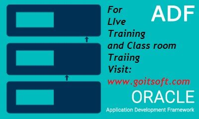 ADF  Class Room & Online Training @ GOIT SOFT  Go IT Soft is a Leading IT Online Training for the  ADF Class Room and Live Training and also for the Other IT Courses. ADF   Course Details:  http://www.goitsoft.com/oracl-adf/  Please go through the following link for the information on each module:  http://www.goitsoft.com/