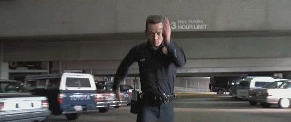 Image result for t-1000 running