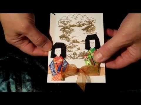 Kimono Girl paper folding - YouTube