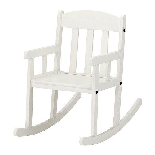 SUNDVIK Chaise à bascule enfant IKEA Se balancer développe l'équilibre et l'analyse des informations sensorielles.