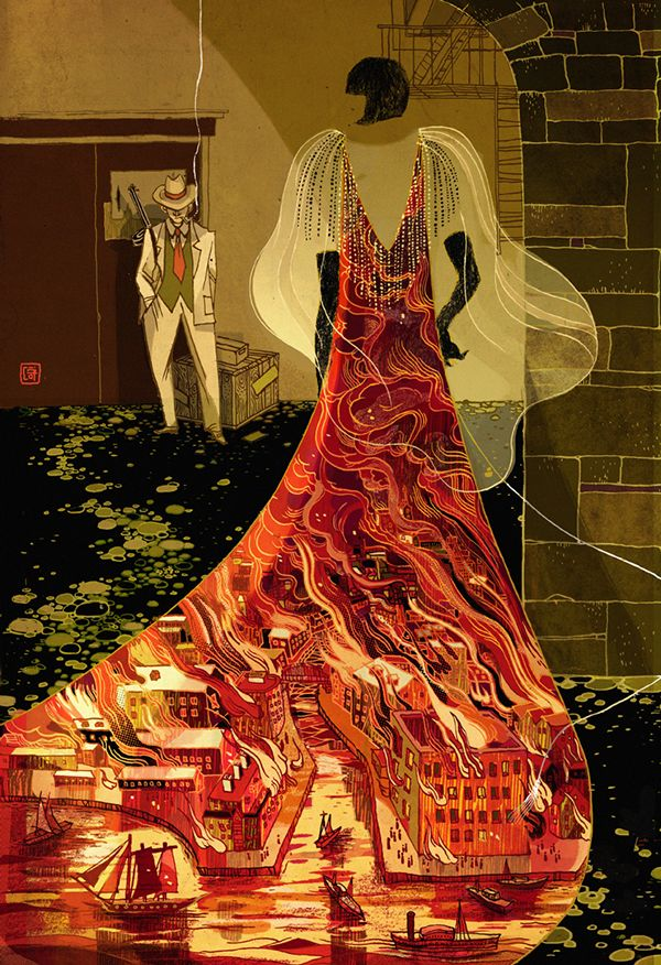 Mystery and Science Fiction Victo Ngai