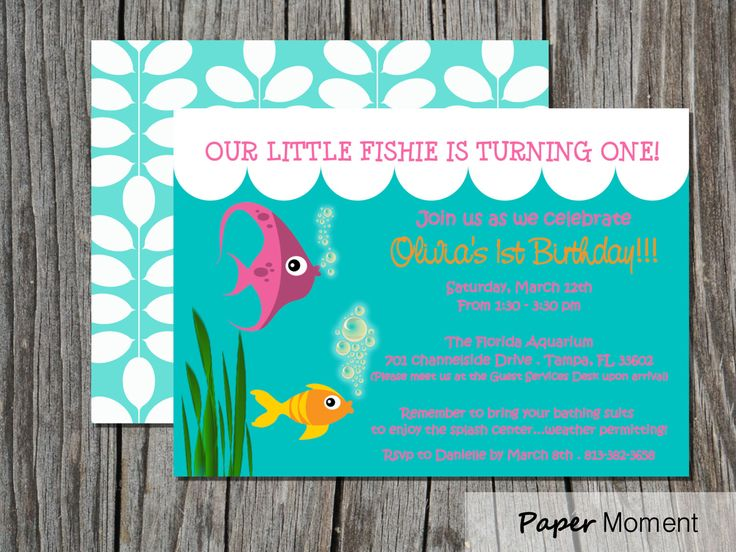 Pool party birthday party invitations printable or digital - Cute Invite Like The First Line Rj Party Pinterest