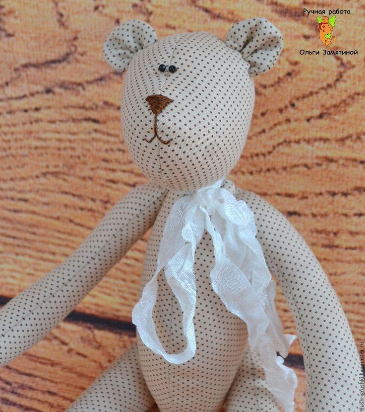 Купить Мишка Тильда - комбинированный, мишка, мишка в подарок, мишка ручной работы, тильда мишка