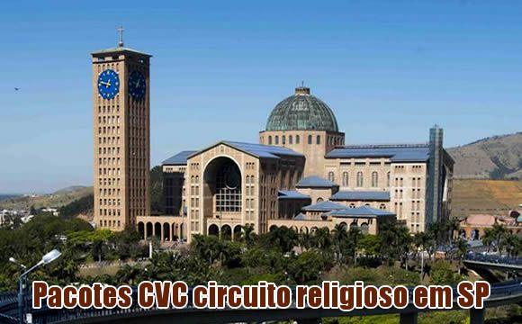 Aparecida do Norte circuito religioso CVC
