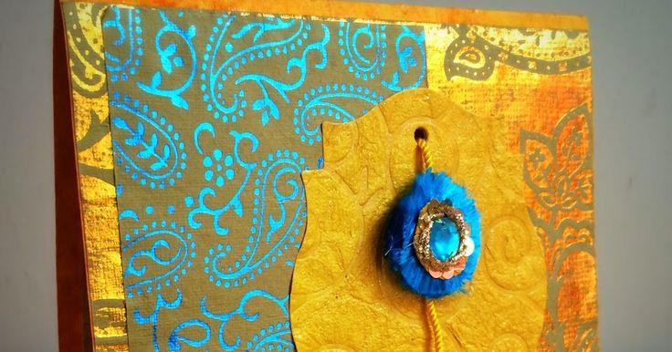 Juhi's Handmade Cards: Handmade Rakhi cards for 2014