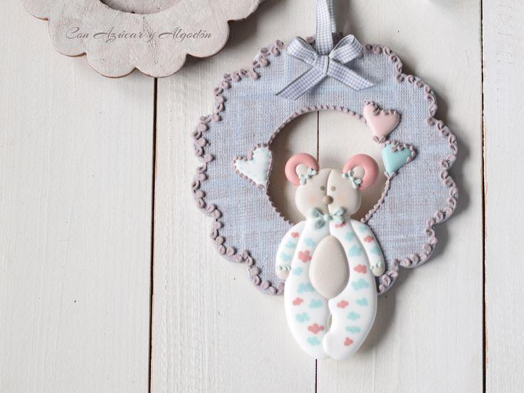 Decorated cookies... Galletas de bebé