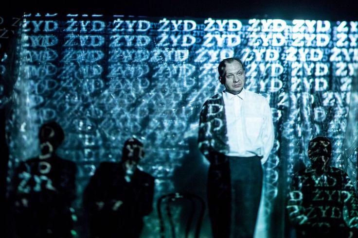 """Mosdorf""B.Bukowski./dir.B.Bukowski/ set & costumes Kasia Stochalska/ Nowy Teatr Poznań/ Poland  fot.J.Wittchen"