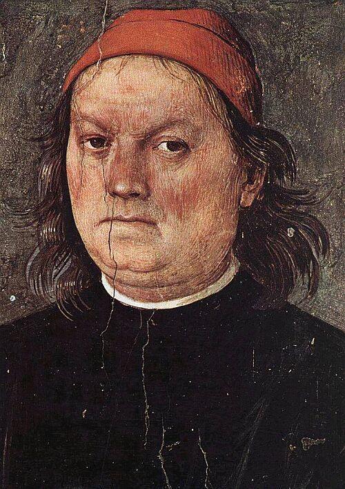 Автопортрет Перуджино.