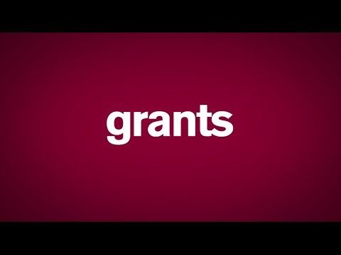 Let's Talk About Grants - YouTube