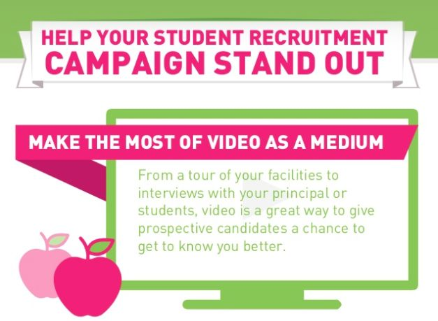 Education marketing: Tips for a successful student recruitment campaign