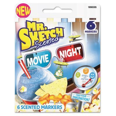 Mr. Sketch Scented Movie Night Markers | OfficeSupply.com