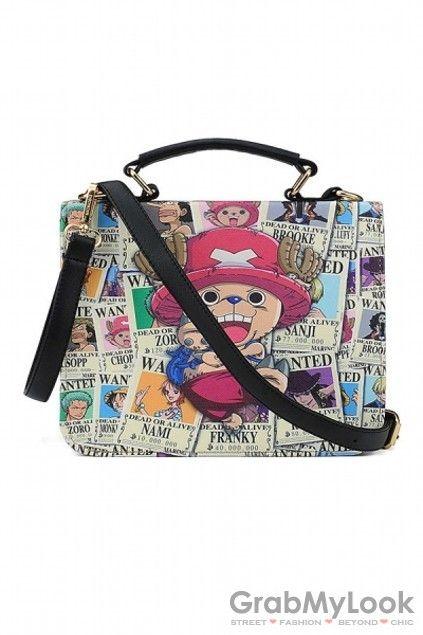 GrabMyLook Faux Leather Cute Cartoon Doctor Boston Handbag Bag