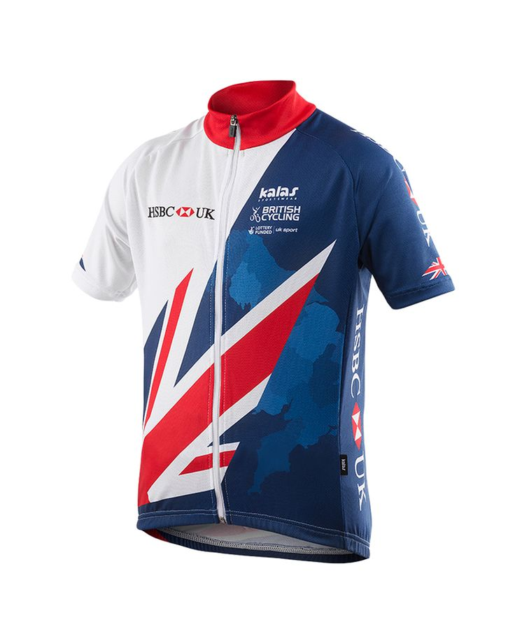 Buy Kalas Kids' Team GB Replica Short Sleeve Jersey here at ProBikeKit UK - with great prices on bikes, components and clothing, and free delivery on all orders over £10!
